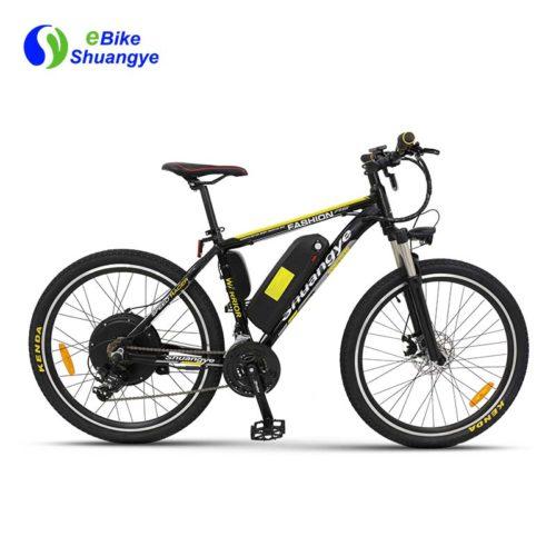 48v mountain ebike 500w rear motor