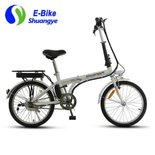 E-city bike carbon steel folding frame