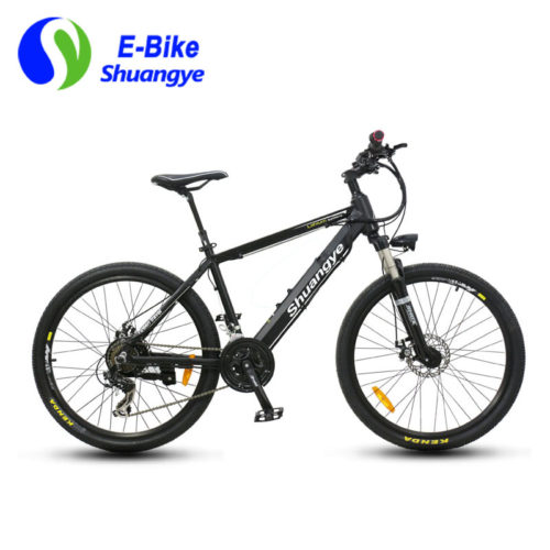 E-mountain bikes 36V lithium battery