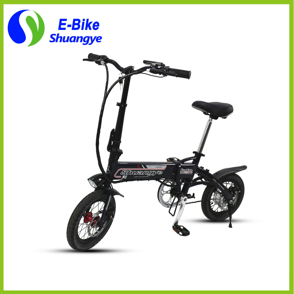 Electric powered bicycle (11)