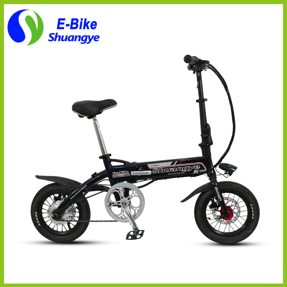 Electric powered bicycle (12)