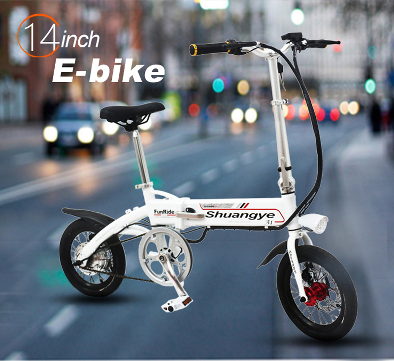 Electric powered bicycle (2)