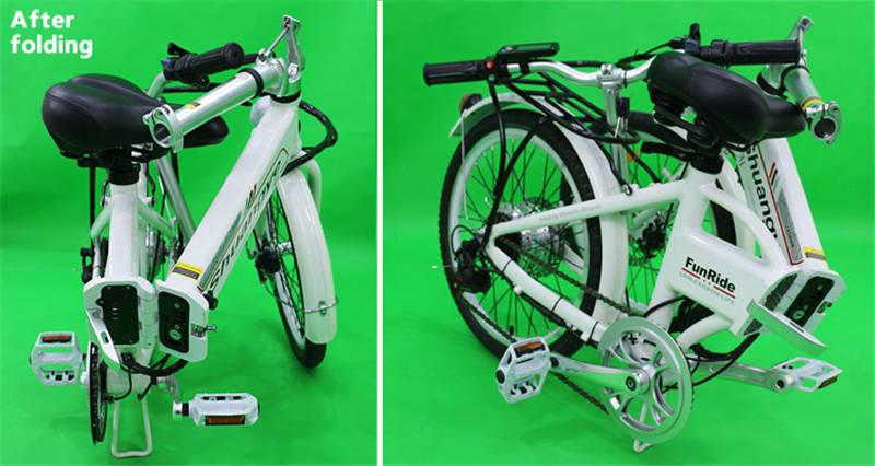 Folding electric bikes 2