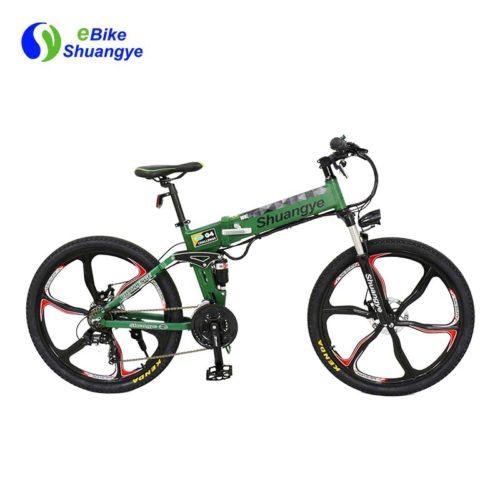 low carbon electric bikes with Shimano derailleur