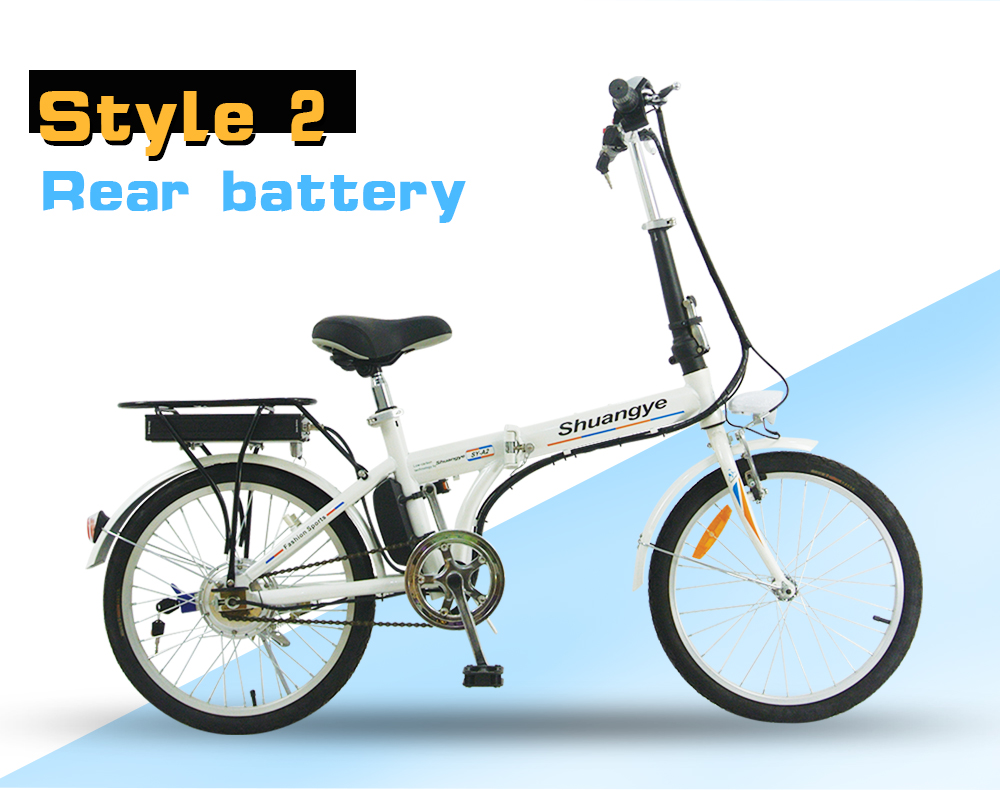 Intelligent electric bike (2)
