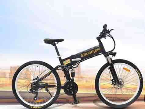 Shuangye all electric bicycles test report