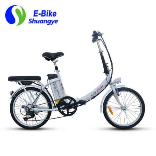20 inch ladies folding electric bicycle