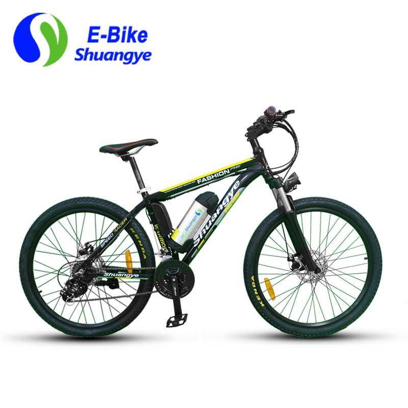 TUV electric mountain bike