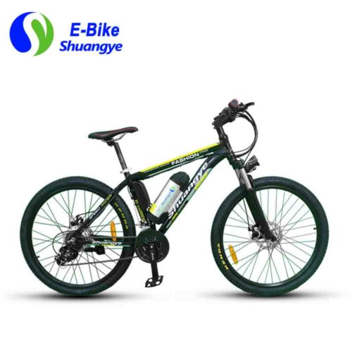 Training mountain e bike 26 inch