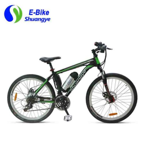 Electric-assist mountain bikes made in CN