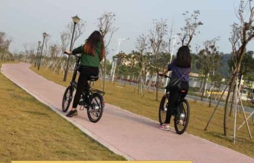 How to operate the electric bicycle?