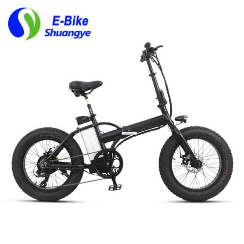 20 inch fat tyre electric folding bike