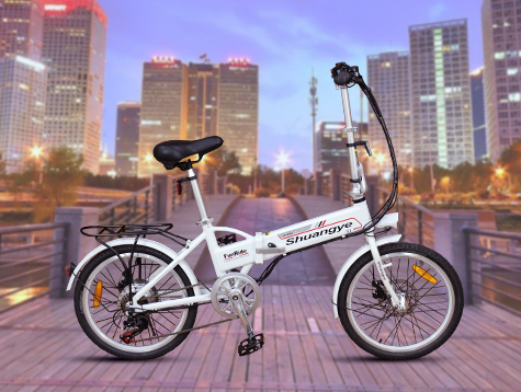 electric folding bike A1 video