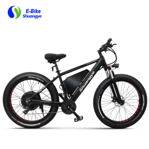 60V 1500W electric fat tire bike max speed 40km/h