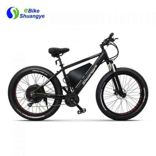 60V 1500W electric fat tire bike max speed 40km/h A7AT26