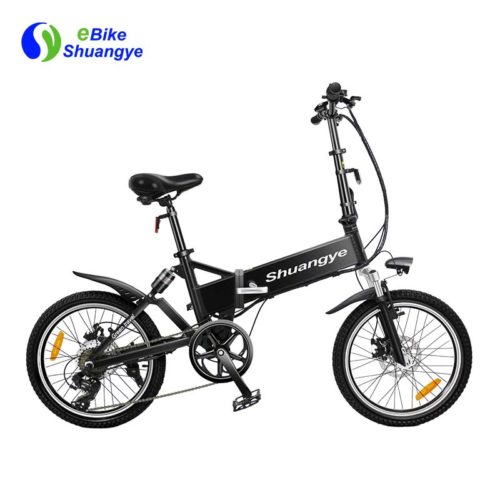 20 inch electric folding bike with suspension
