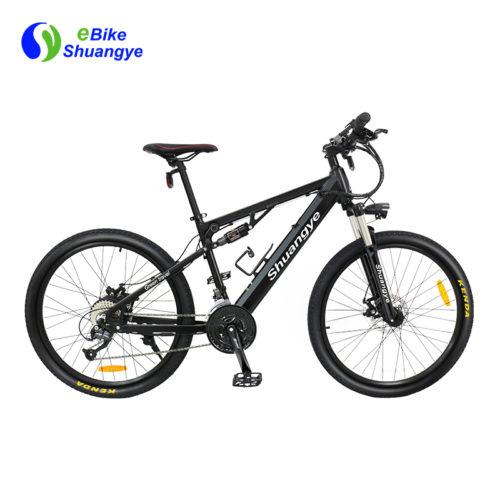 newest full suspension electric mountain bike