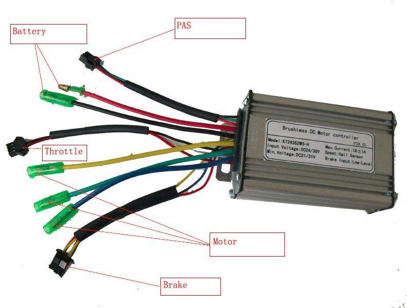 electric bike controller | shuangye ebike