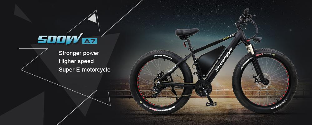 48V 500W motor fatbike e bike for sale