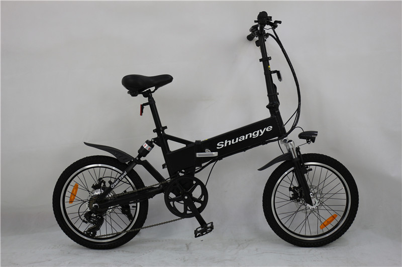 folding bike with suspension (1)