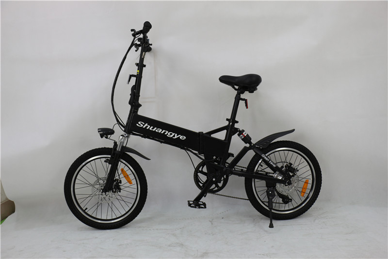 folding bike with suspension (5)