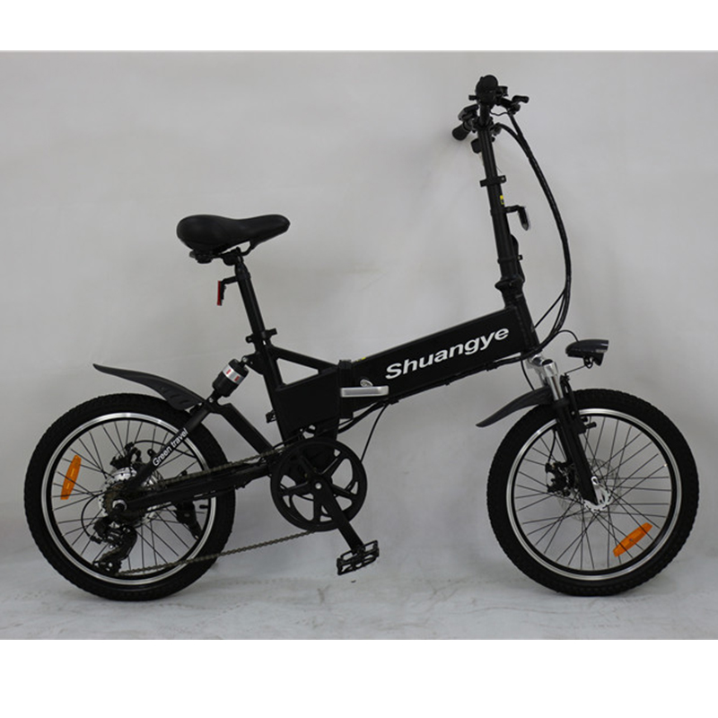 folding bike with suspension
