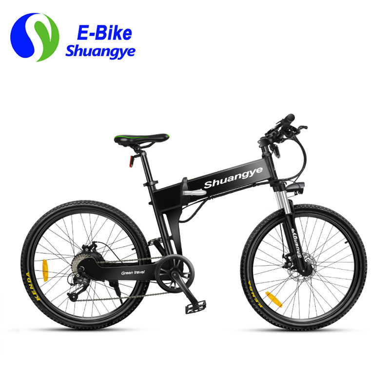 folding electric mountain bike (1)