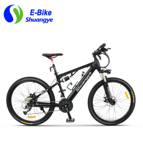 2017 newest full suspension electric mountain bike