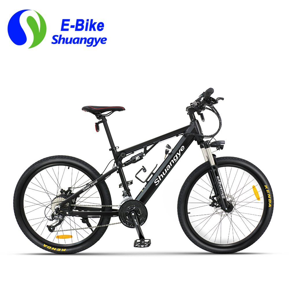 full suspension electric mountain bike (1)