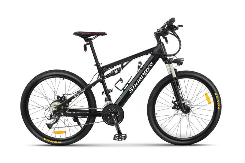 full suspension electric mountain bike (2)