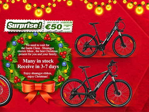 electric bike is appraised  as Christmas gift in Sweden