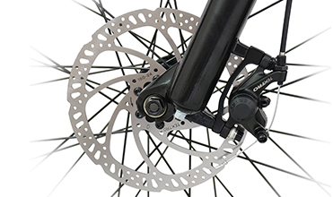 Electric bicycle brake