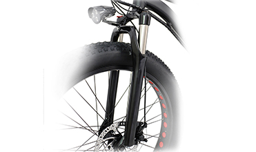 electric mountain bicycle fork