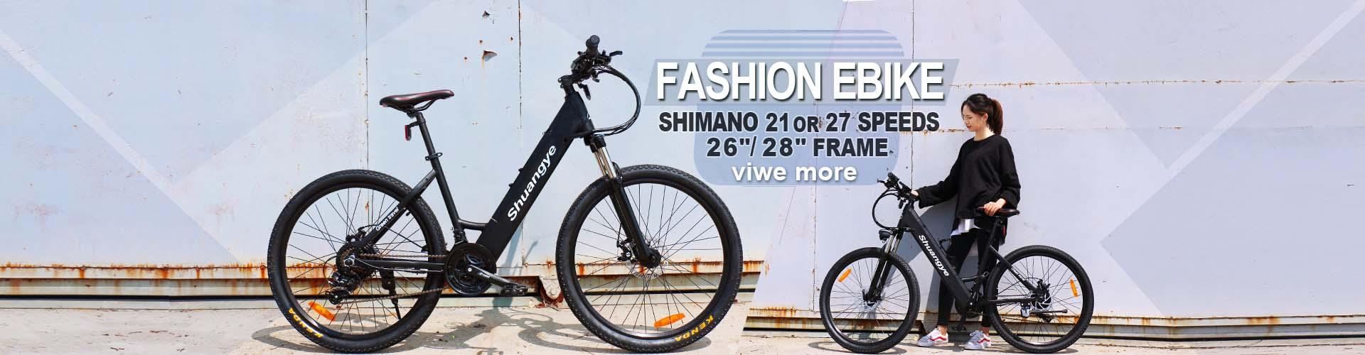 Shuangye electric bike catalog