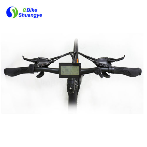 electric assist bike handlebar