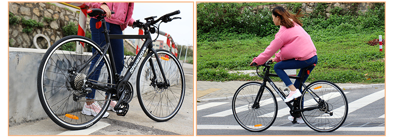 aluminum alloy frame road e bike