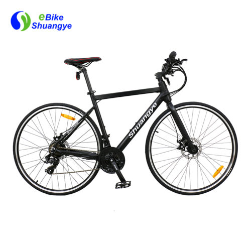 21 speed aluminum alloy frame 700c tires road e bike A6-R