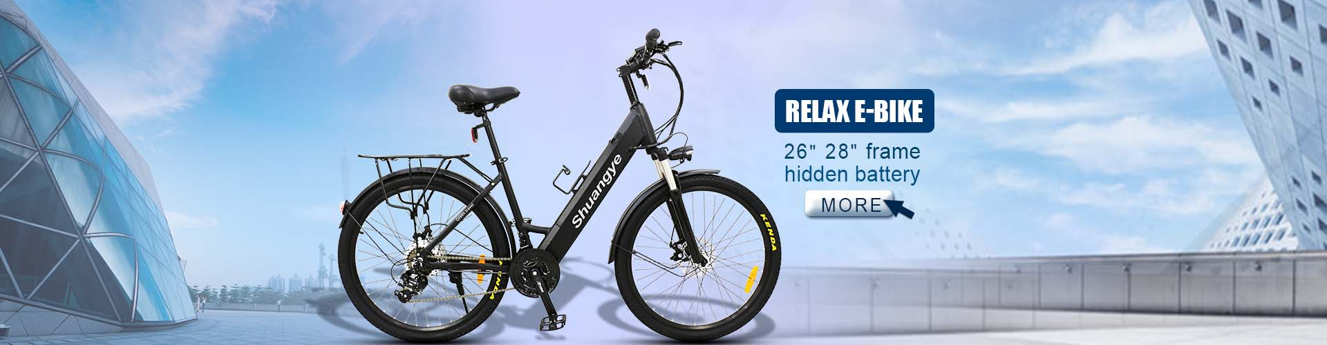 shuangye eletric bike CE EN15194 Certification
