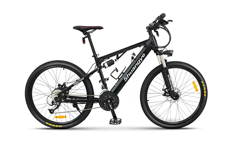 top electric bikes suspension