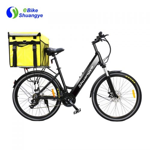 Take-away fast food delivery electric bike