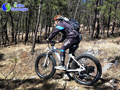 Shuangye electric bicycle off-road riding A6AH26F