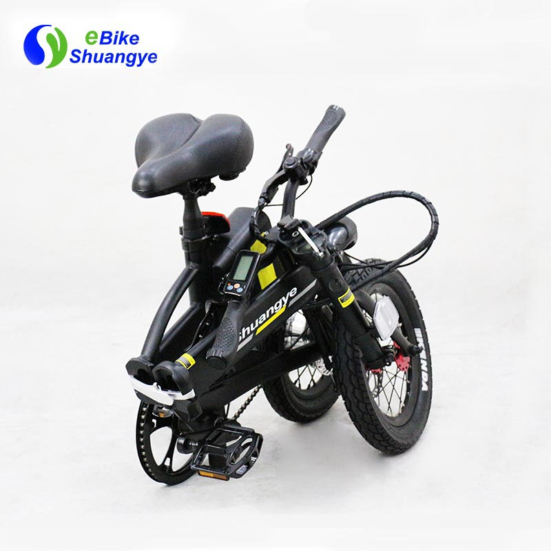 folding electric bike moped bicycle 14 inch1
