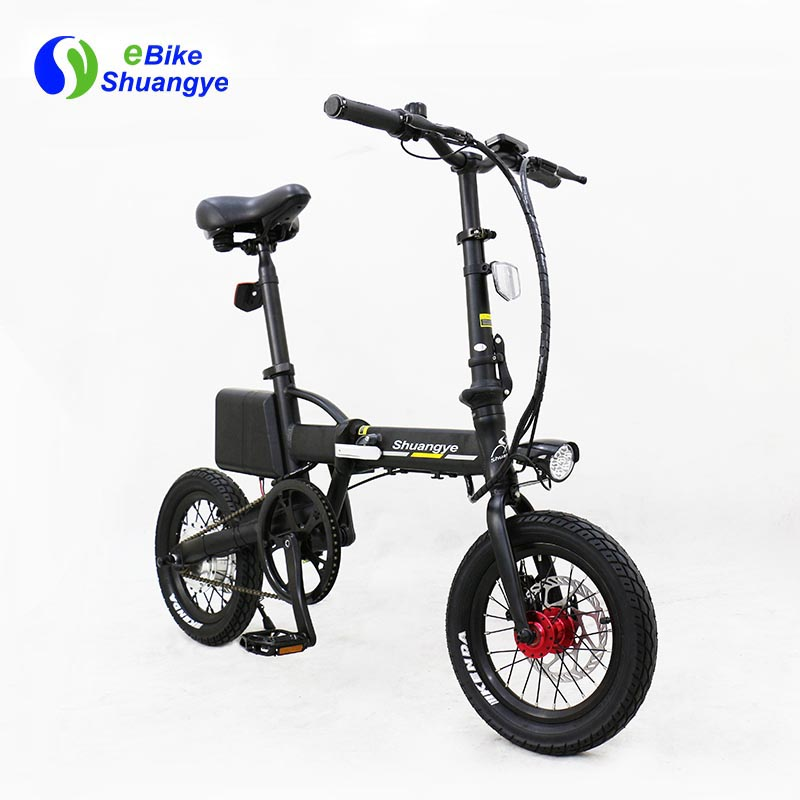 folding electric bike moped bicycle 14 inch2