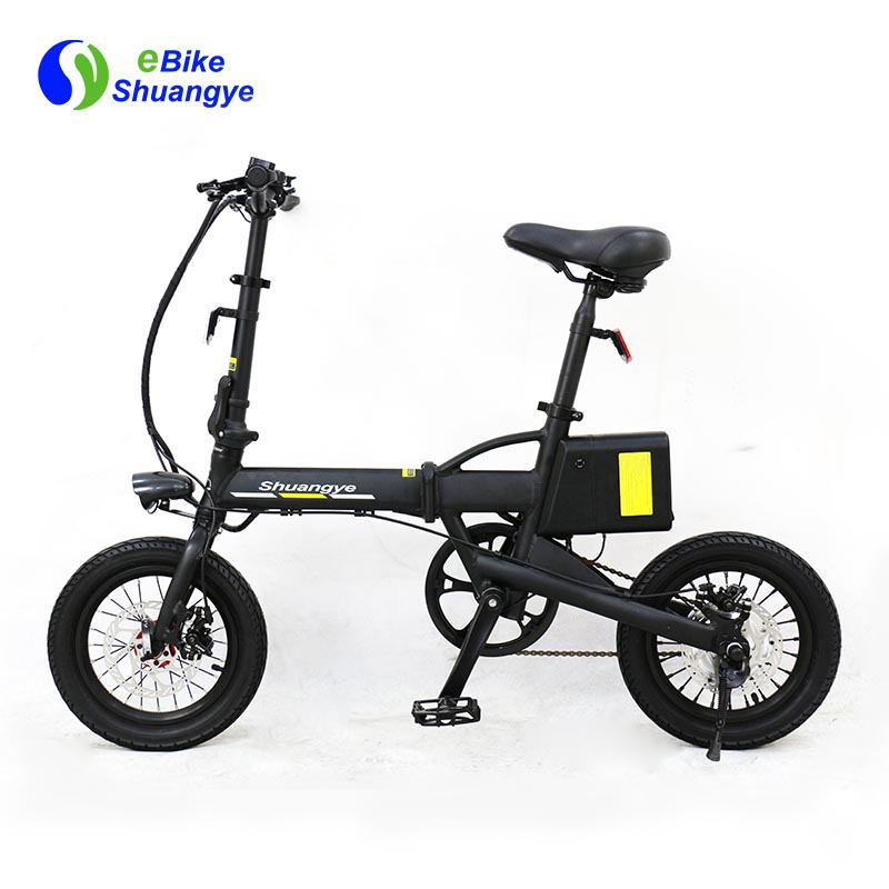 folding electric bike moped bicycle 14 inch3
