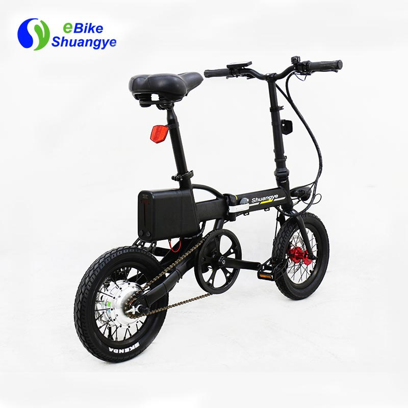 folding electric bike moped bicycle 14 inch4