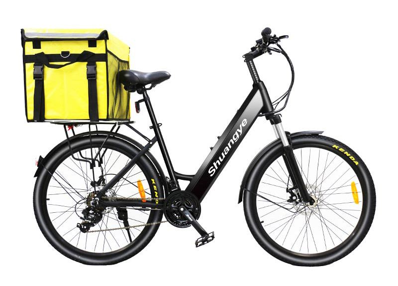 take-away delivery electric bike