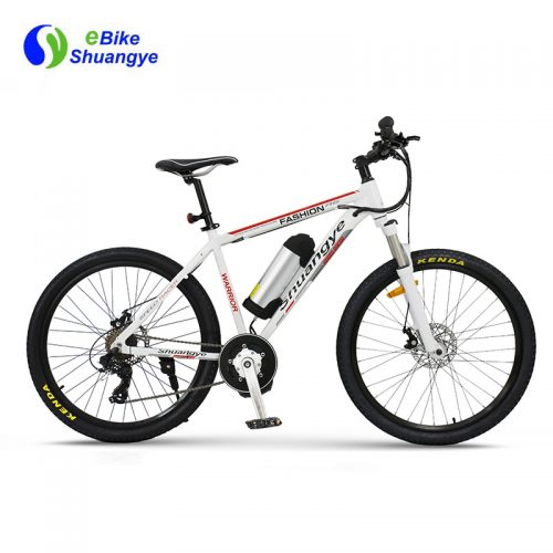 36v 250w Mid drive electric mountain bike manufacturers A6AB26MD