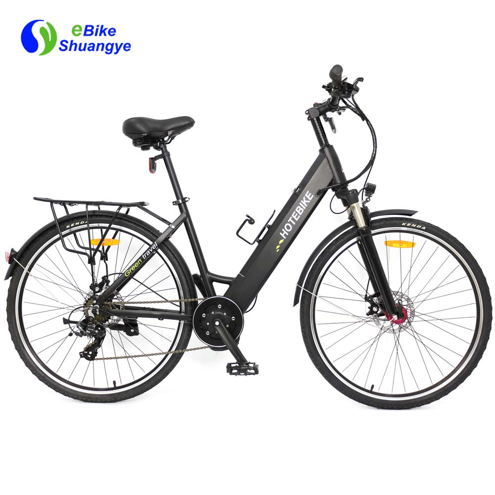 Mid drive men's Electric bike 28 inch hidden lithium battery A5AH28MD