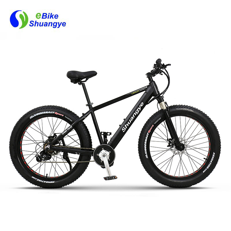 Mid drive men's fat tire Electric bike 26 inch 4.0