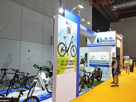 The-28th-China-International-Bicycle-Exhibition-(Shanghai)-officially-begins